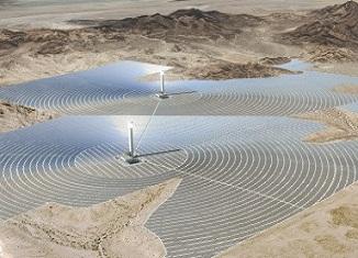 Najveca toplotna solarna elektrana na svetu u pustinji Mohava
