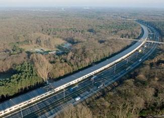 Solarni tunel belgijske železnice za napajanje vozova strujom