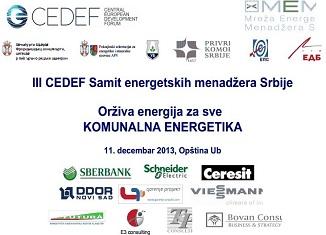 iii cedef samit