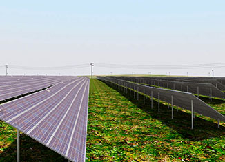 model - solarna elektrana