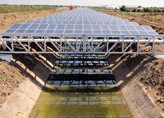 Indija Solarni kanali