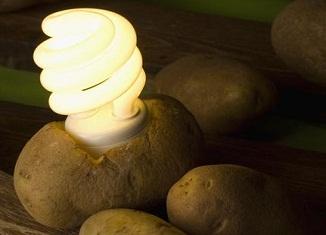 Baterija od kuvanog krompira