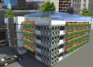 Pogledajte kako bi izgledala energetski održiva zelena garaža u Kragujevcu
