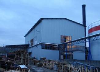 Kotao na voćnu biomasu u Aleksandrovcu