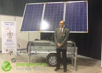 Mobilni robotizovani solarni generator Instituta Mihajlo Pupin