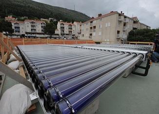 Solarna klimatizacija u Vodovodu u Dubrovniku
