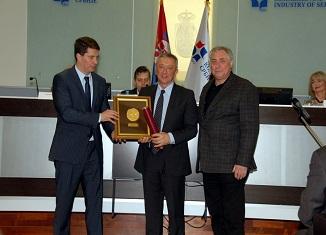 Nagrada za projekat godine Draganu Jovanovicu te-ko.rs