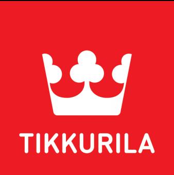 Tikkurila logo - red label