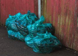plastične kese sa smećem