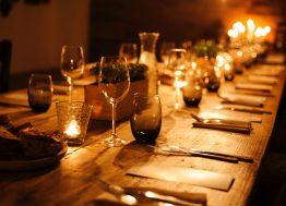 večera uz sveće